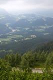 Mountainous Alpine landscape Stock Images
