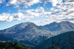 Mountainous atlas Stock Images