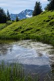 Mountainous of belledone,isere,france Stock Photo
