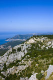 Mountainous coastline Royalty Free Stock Photography