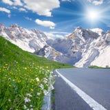 Mountainous countryside Royalty Free Stock Photo