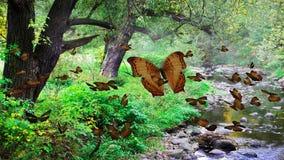 Mountainous creek Royalty Free Stock Images