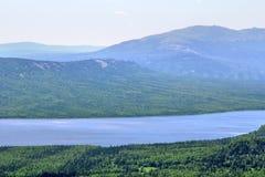 Mountainous lake Royalty Free Stock Images