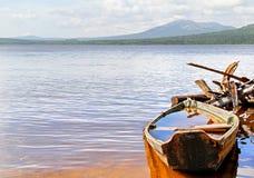 Mountainous lake Stock Image