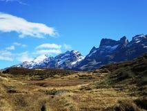 Mountainous Landforms, Highland, Mountain, Wilderness Stock Photo