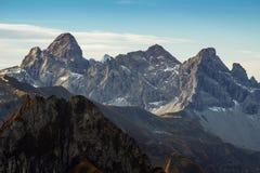 Mountainous Landforms, Mountain, Mountain Range, Sky royalty free stock photography