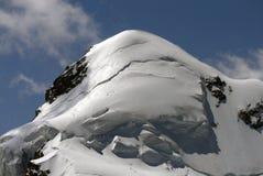Mountainous Landforms, Mountain, Mountain Range, Snow royalty free stock photography