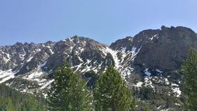 Mountainous Landforms, Mountain, Mountain Range, Wilderness Stock Photo