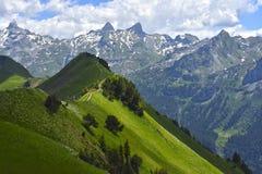 Mountainous Landforms, Mountain Range, Mountain, Nature