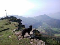 Mountainous Landforms, Mountain, Sky, Ridge stock photo