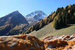Mountainous Landforms, Mountain, Wilderness, Sky Royalty Free Stock Photo