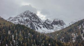 Mountainous Landforms, Mountain, Wilderness, Tree Royalty Free Stock Images