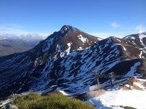 Mountainous Landforms, Ridge, Mountain, Wilderness Royalty Free Stock Photos