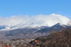 Mountainous Landforms, Sky, Mountain, Mountain Range royalty free stock photos