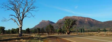 Mountainous Landforms, Sky, Wilderness, Tree Stock Images