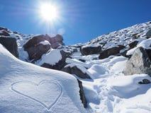 Mountainous Landforms, Snow, Mountain Range, Mountain Royalty Free Stock Photos