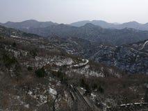 Mountainous Landforms, Winter, Mountain, Sky royalty free stock image