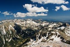 Mountainous landscape stock image