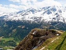 Mountainous landscape Stock Photos