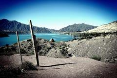 mountainous landscape of argentina stock photo