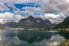 Mountainous landscape Royalty Free Stock Photo
