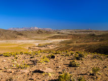 Mountainous landscape of Cordillera de Lipez Royalty Free Stock Photography
