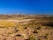 Mountainous landscape of Cordillera de Lipez Royalty Free Stock Photography