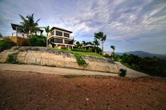 The mountainous landscape of Koh Samui Stock Photography