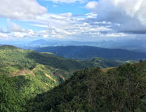 Mountainous landscape, Laos Stock Photography