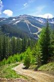 Mountainous landscape, Low Tatras, Slovakia Royalty Free Stock Photography