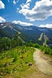 Mountainous landscape, Low Tatras, Slovakia Stock Photography