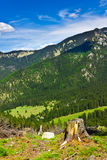 Mountainous landscape, Low Tatras, Slovakia Royalty Free Stock Image