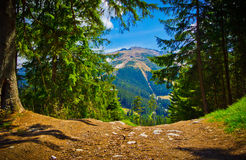 Mountainous landscape, Low Tatras, Slovakia Royalty Free Stock Images