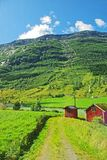Mountainous landscape of northern Norway Royalty Free Stock Image