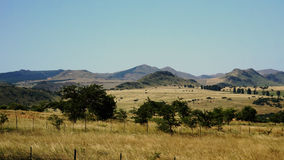 Mountainous landscape in Swaziland Stock Photo
