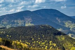Mountainous landscape Royalty Free Stock Photos