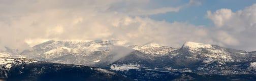 Mountainous panorama Stock Image