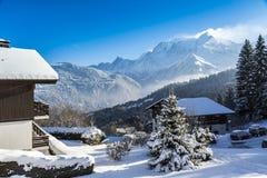 Mountainous Resort Stock Photos
