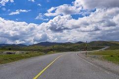 Mountainous road near Metsovo, Greece Stock Photos