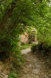 Mountainous rural houses Royalty Free Stock Image