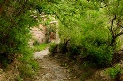 Mountainous rural houses Royalty Free Stock Photography