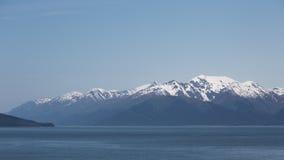 Mountainous Shoreline Stock Photo