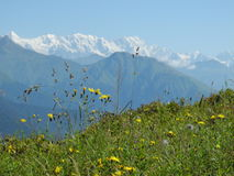 The mountainous of Svaneti Stock Photo