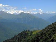 The mountainous of Svaneti Stock Photo