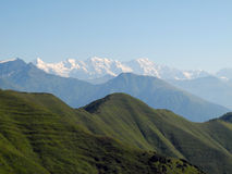 The mountainous Svaneti Royalty Free Stock Images
