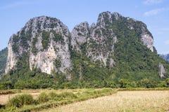 Mountainous Royalty Free Stock Image
