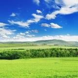 Mountainous terrain Stock Images