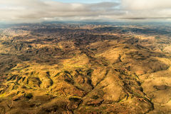Mountainous Terrain of Madagascar Royalty Free Stock Image