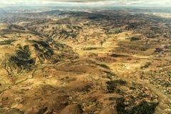 Mountainous Terrain of Madagascar Royalty Free Stock Photography
