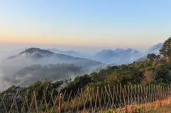 Mountainous view Royalty Free Stock Photo